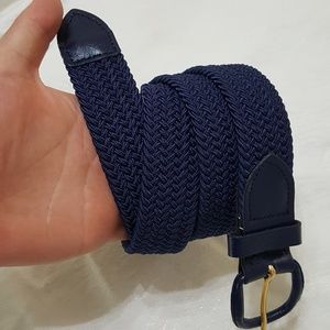 Other - NWT Elastic braided stretch belt (different sizes)